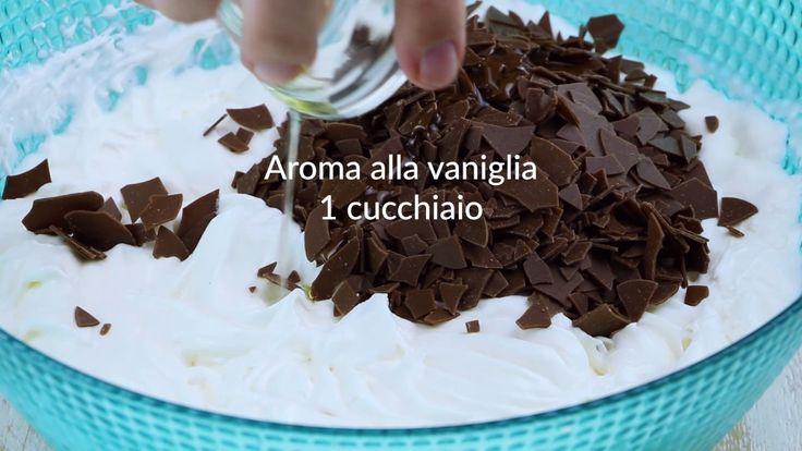Torta al cioccolato con sorpresa di banana