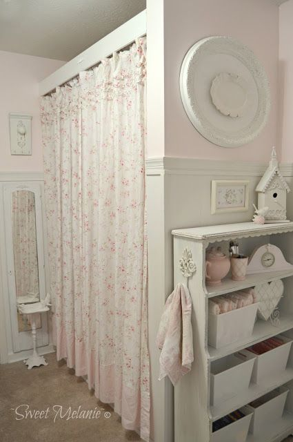 Best 20+ Shabby Chic Curtains ideas on Pinterest   Chabby chic ...