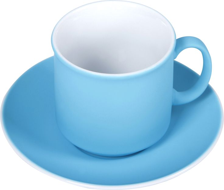 Sunshine Soft Touch Cup and Saucer -   Larder's Soft Touch Cup and Saucer, feel beautiful in your hand. This brightly coloured cup and saucer is coated with silicone, which gives it a silky smooth feel. It comes in a vibrant blue and is dishwasher and microwave safe.  larder.com.au