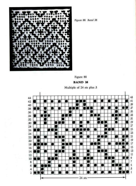 Mosaic Knitting Barbara G. Walker (Lenivii gakkard) Mosaic Knitting Barbara G. Walker (Lenivii gakkard) #121