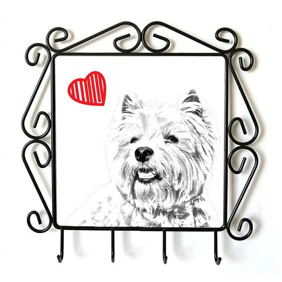 Collectie metalen hangers met beelden van stamboom honden.  Prints gemaakt met de methode van de sublimatie op een keramische plaat.  Deze elegante hanger is een perfecte huis decoratie.  Een unieke collectie met stamboom honden niet vindt u nergens anders.  Hond met hart.   Afmeting: 23 x 23 cm (beeld: 15 x 15 cm)