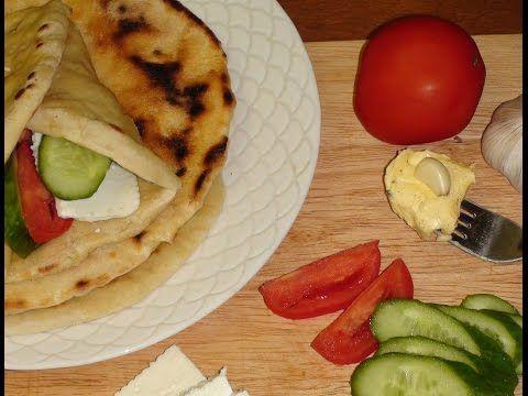 Индийский  хлеб  НААН - YouTube