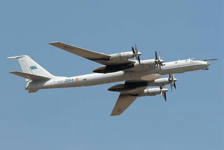 The Tupolev Tu-142 (Russian- Туполев Ту-142; NATO reporting name- Bear F_J) is a maritime reconnaissance and anti-submarine warfare (ASW) aircraft derived from the Tu-95 turboprop strategic bomber.
