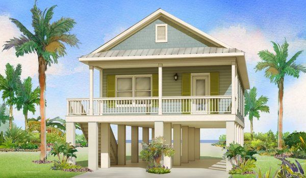 One Story Collection Fish Hawke By Affinity Building Systems Modularhomes Com In 2020 Stilt House Plans House On Stilts Small Beach Houses