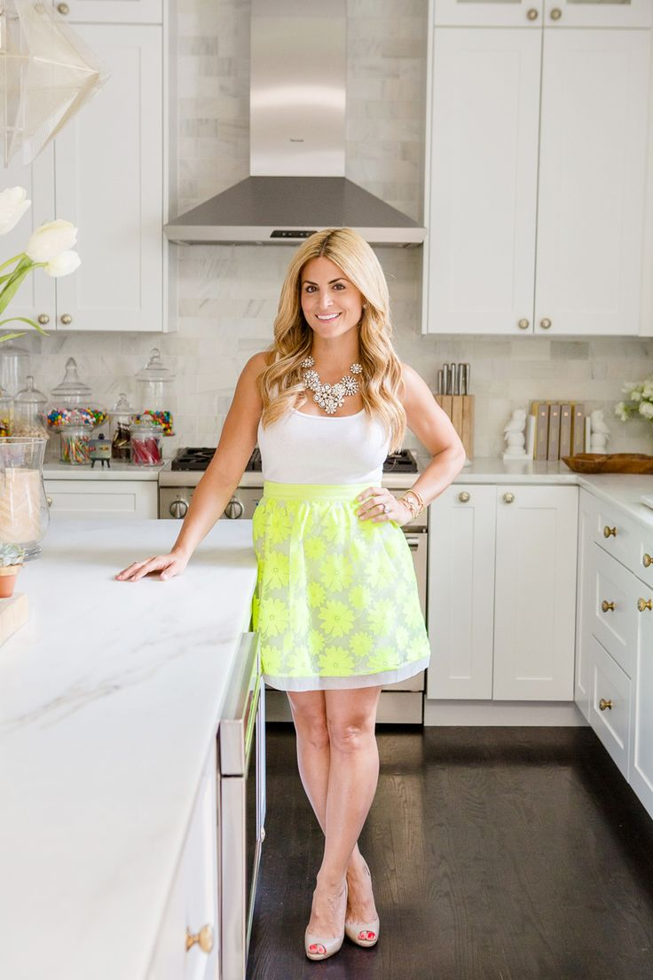 """Serious Home Inspiration From An HGTV Starlet  #refinery29  http://www.refinery29.com/alison-victoria-hgtv-kitchen-crashers#slide1  You were into design ever since you were a kid. What inspired your interest at such a young age?   """"I started redesigning my best friend Britt's room at the age of eight. We ripped up the carpet to get to the wood flooring, painted everything peach (it was the '80s, so peach was HOT), and rearranged the furniture. Space planning was everything to me, and I'm ..."""