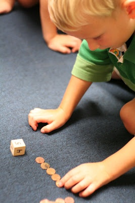 preschool money and math idea