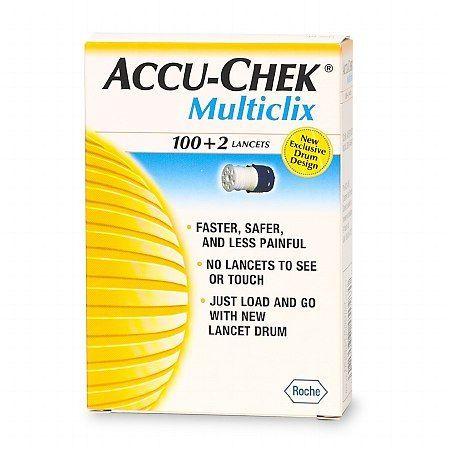 Accu-Chek Multiclix Lancets - 102 ea