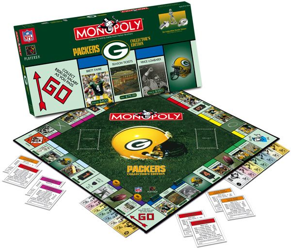 I don't even like Monopoly, but I'd play Packer Monopoly!