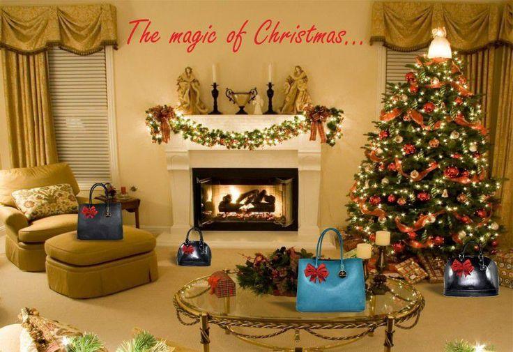 La magia del Natale #millenniumstar #borsedonna