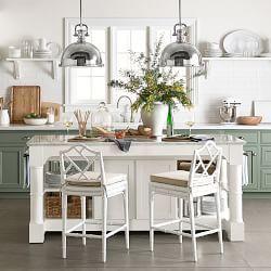 Butcher Block Islands, Kitchen Utility Carts & Chefs Tables | Williams-Sonoma