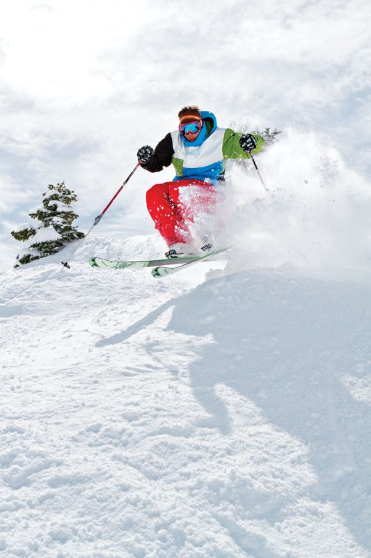 Hit some Bumps - Jonny Moseley Ski Instruction - SKI Magazine