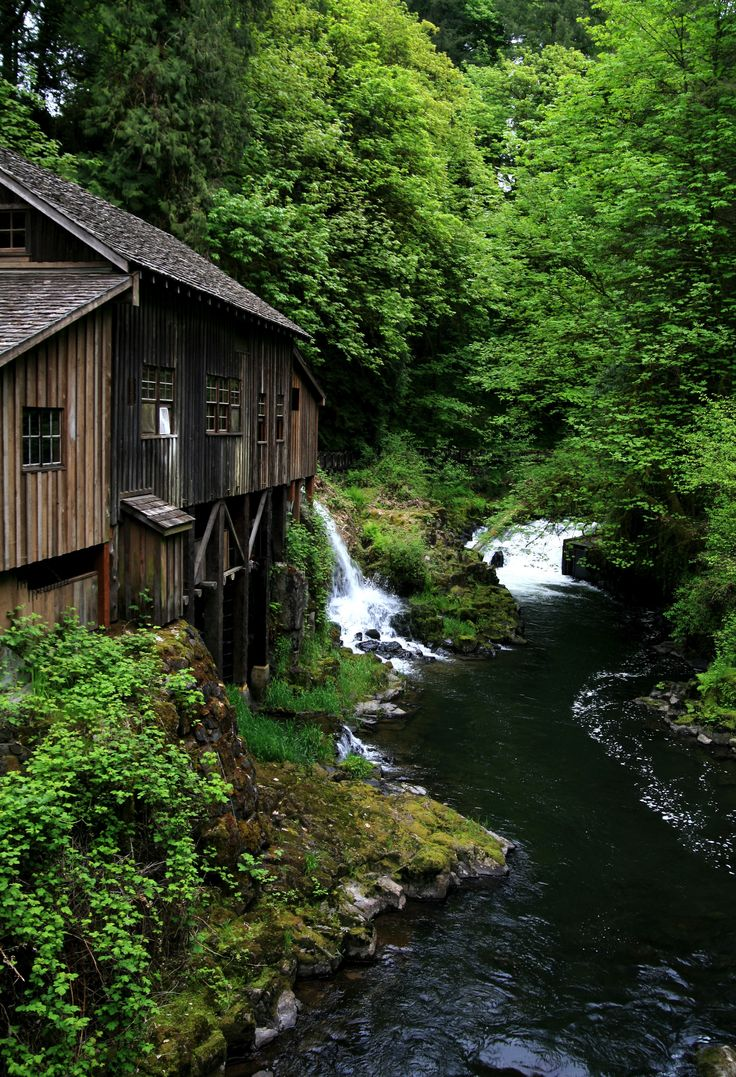 Cedar Creek Grist Mill is a working museum in Woodland Washington. Take a tour of this beautiful unique place.