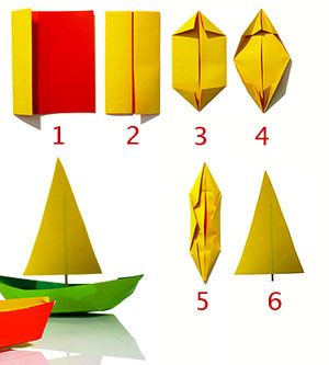 craft express - make a paper boat