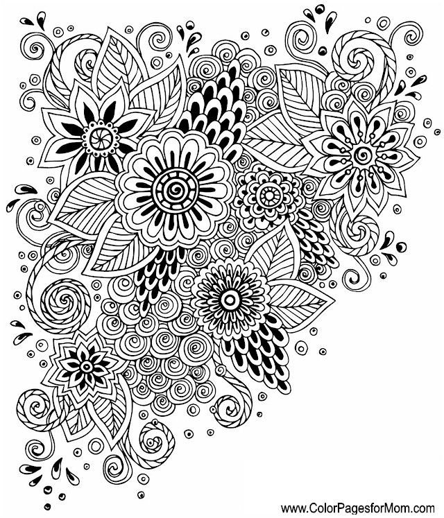 whimsical coloring page 69