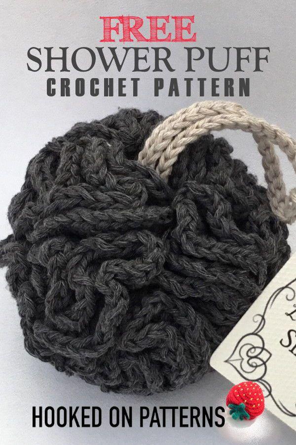 Free Crochet Shower Puff Pattern