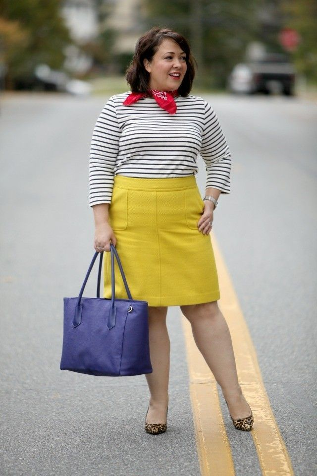 332cc883f0 wardrobe oxygen featuring a dagne dover tote and talbots a-line skirt