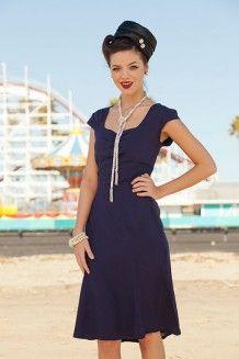 Ocean Plunge Dress