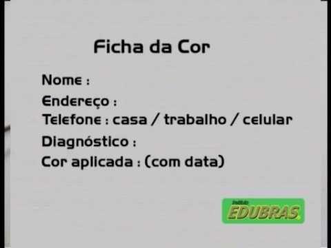 Curso de Cabeleireiro Colorimetria II -  (Curso Online ou DVD EDUBRAS)