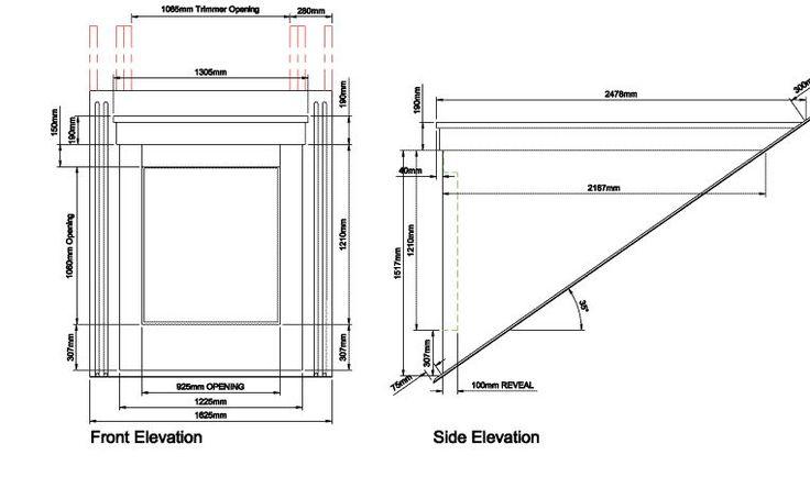 how to hand draw dormer windows | 35º Flat Top - Dormer Window Roof