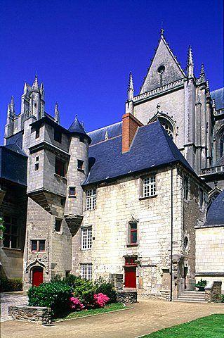 France, Pays De La Loire, Loire Atlantique , Nantes, Medieval Gothic Cathedral