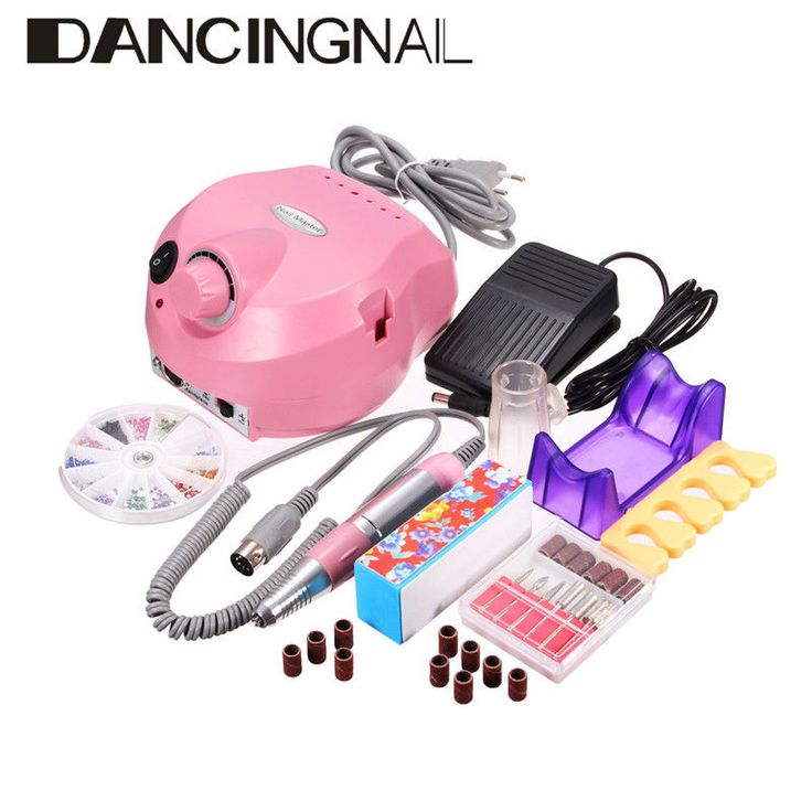 Details about Professional Electric Manicure Pedicure Tool Drill ...