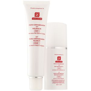 Nutrimetics Ultra Care+ Micro-Dermabrasion Kit 60ml, 40ml. An amazing scrub that will remove all the dead skin & aid in repair.