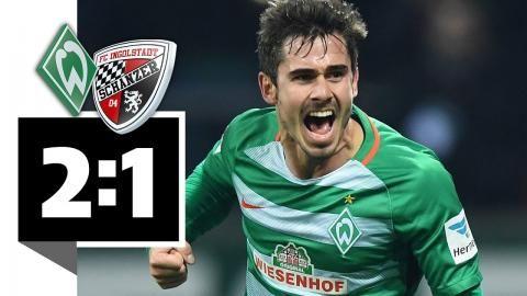 Werder Bremen - FC Ingolstadt 04 – 2:1 - Werder siegt mit Flipper-Tor!: Werder siegt mit Flipper-Tor! Werder Bremen - FC Ingolstadt 04 –…