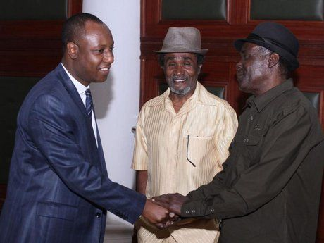 Nairobi deputy governor meets with visiting Jamaican reggae icons, Wailing Souls - The Star, Kenya