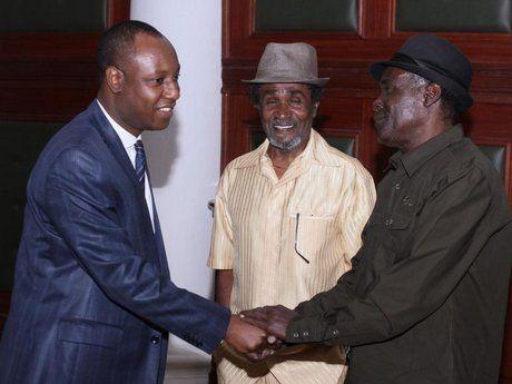 Nairobi deputy governor meets with visiting Jamaican reggae icons, Wailing Souls - The Star, Kenya