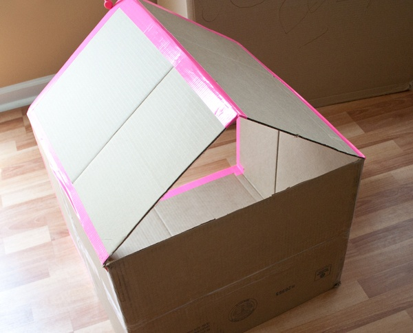 Paperbox house