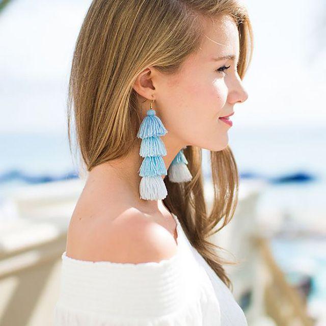 Catalina Tassel Boho Earrings