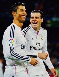 Cristiano Ronaldo + Gareth Bale