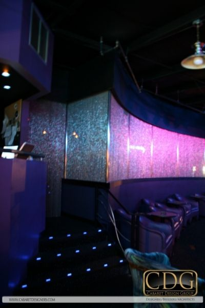 room strip vip club design