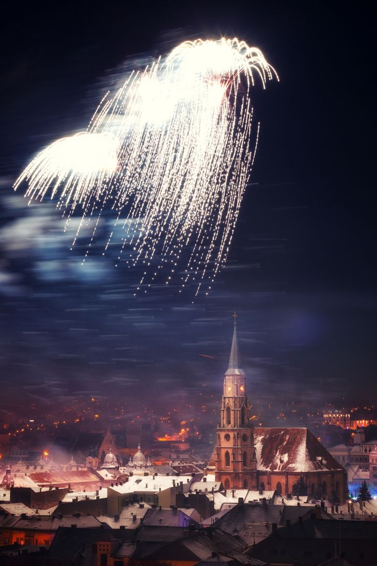 Happy New Year - Cluj Napoca, Romania