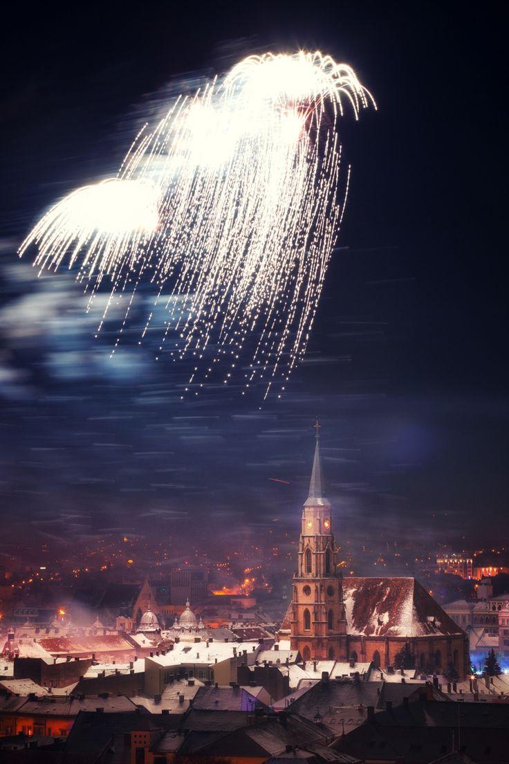 Happy New Year - Cluj Napoca, Romania
