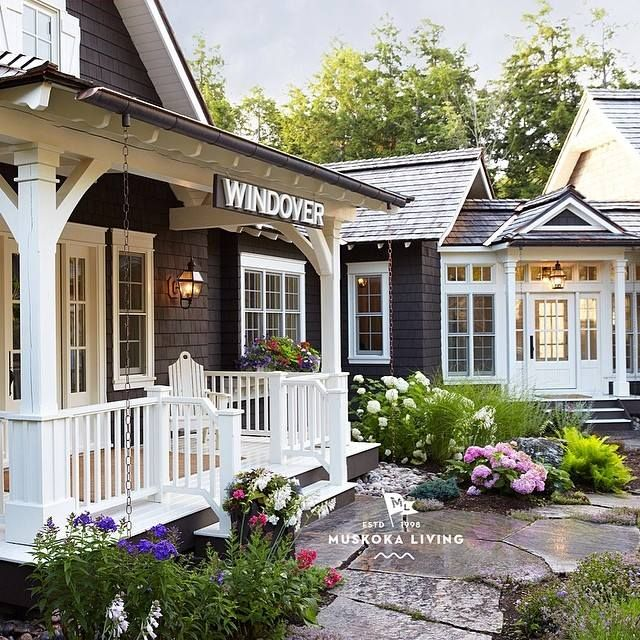 Muskoka Living Interiors Boat HouseCottage GardensOutdoor