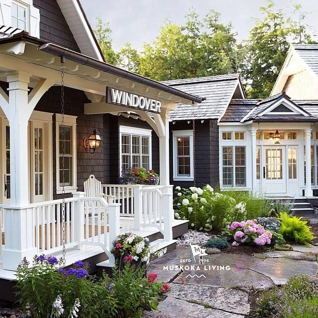 Muskoka Living Interiors Boat HouseCottage GardensOutdoor