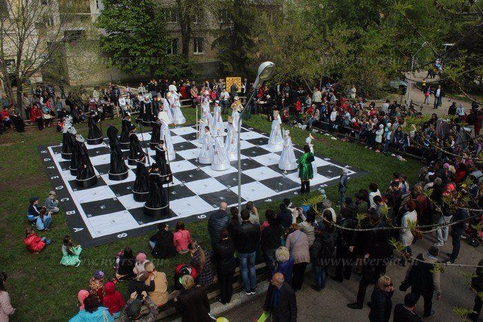 """1 мая  в Городском парке состоится игра """"Живые шахматы"""" Подробнее http://www.nversia.ru/news/view/id/104639 #Саратов #СаратовLife"""