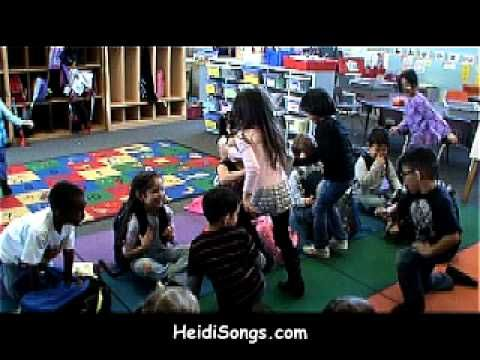 "The ""Get"" Song from HeidiSongs.com.  This is a great song for having kids get their things at the end of the day."