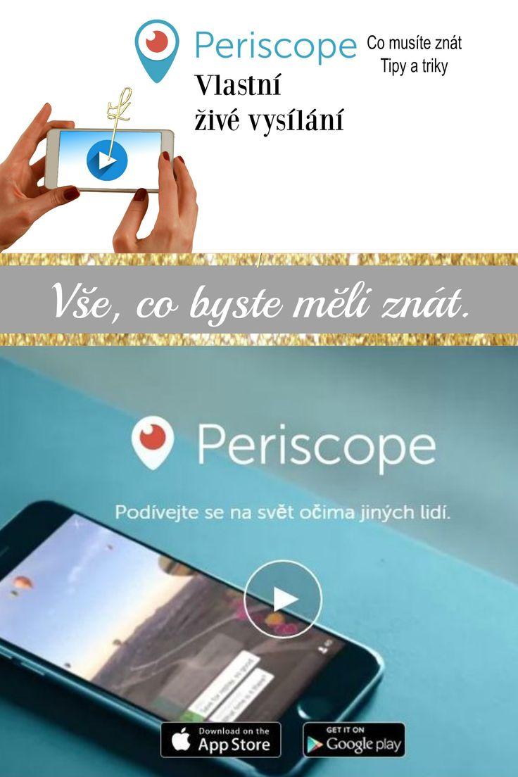 Periscope – Živé vysílání pro každého. Jak na Periscope? Praktické a odzkoušené tipy nejen pro začátečníky. Úvodní díl odhalující live streaming nejen pro firmy. #Periscope