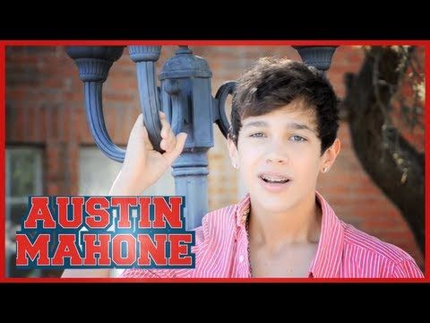 Mistletoe - Justin Bieber - music video cover by Austin Mahone - with lyrics