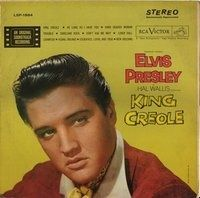 King Creole is the sixth album by Elvis Presley, issued by RCA Victor, LPM 1884 in mono in September 1958,[4] recorded in four days at Radio Recorders in Hollywood. It contains songs written and recorded expressly for the film, and peaked at number two on the Billboard Top Pop Albums chart.[5] It followed the film release by over ten weeks. It was certified Gold on July 15, 1999 by the Recording Industry Association of America.[6]