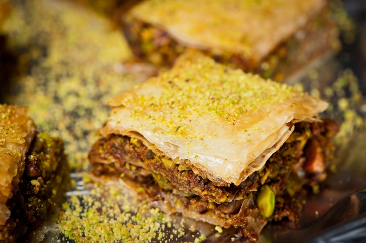 Pistachio Baklava | From my Kitchen | Pinterest