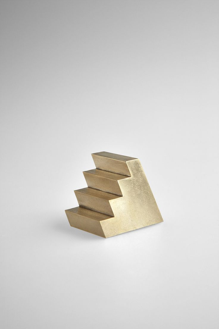 Brass Staircase Paperweight - studiokyss