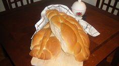 Homemade Guyanese Bread or 'plait bread'