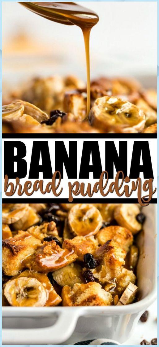 Mar 26, 2020 – Banana Bread Pudding – Chocolate Bread Pudding #Banana #best chocolate bread pudding #bobby flay chocolat…