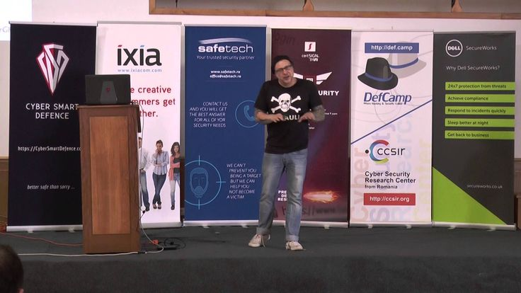 DefCamp 2015 - Cryptography – our weapon in the 21st century