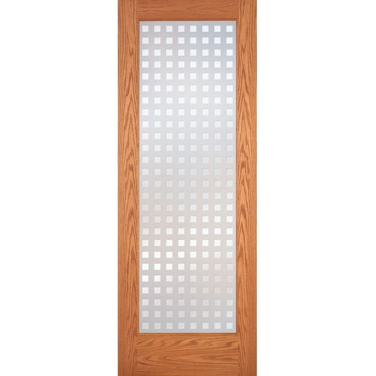 Feather River Doors Multicube Woodgrain 1 Lite Unfinished