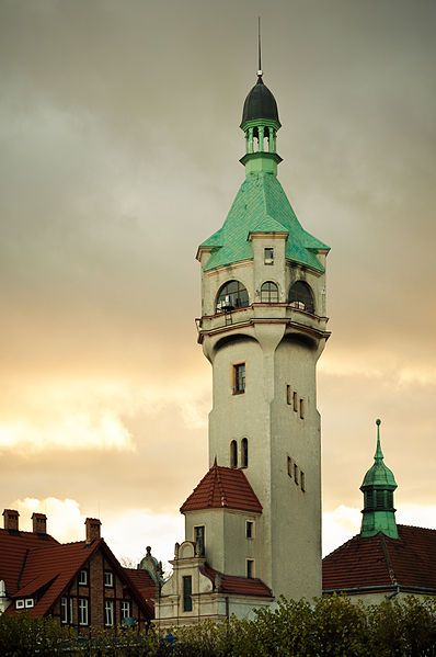 Lighthouse in Sopot, Poland