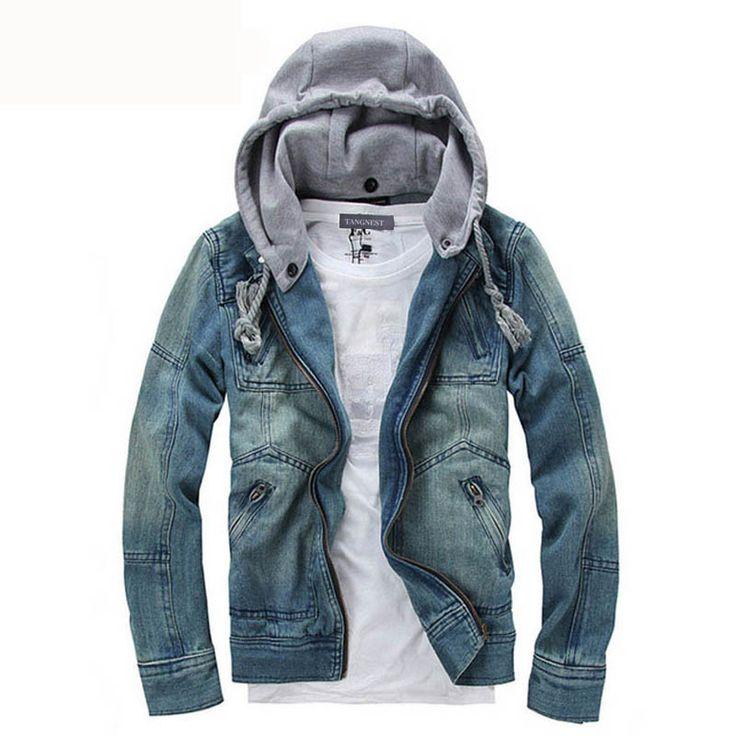 2016 New Hot selling Casual Fashion Men's Denim Jacket High Qality Comfortable Male Cowboy Jacket Plus Size M-XXXL MWJ089